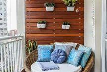 Decoração de varandas e terraços / Inspirações para decorar varandas e terraços