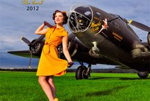 Warbird Pinup Girls 2012 / Warbird Pinup Girls 2012 Calendar. #WWII #WW2 #Ilovemysoldier #army #navy #marine #airforce #specialforces #armywife #armygirlfriend #airforcewife #airforcegirlfriend #marinewife #marinegirlfriend #navywife #navygirlfriend #warbird #pinup #pinupgirls #esquire #steampunk #marilynmonroe #ditavontease #1940s #planes #aviation #TBMAvemger #B25Mitchell #B17FlyingFortress #PBYCatalina #C47 #A26Invader