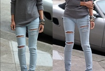 Sexy Jeans, True Religion, Nudie, etc. / by Ruth Souffrant