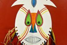 papírové masky a nápady