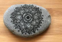 Mandalas en piedra natural