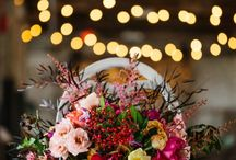Industrial wedding styled shoot / Geometric marble and copper inspired