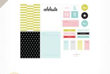 Studio Calico printables we have