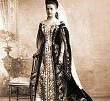 Russian court dress