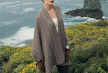poncho knit crochet