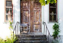 Talon ovet, sisäänkäynnit