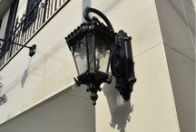 ファサードに効く大きな屋外用照明