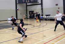 Men's Varsity Volleyball - January 24, 2015 / Canadore Panthers vs. Fleming
