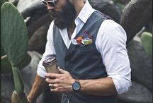 Bearded Men Style