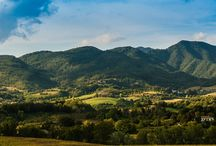 Mugello / Mugello is a wide, green valley of art.