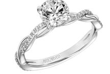 Engagement Rings: Twisted Band / Engagement rings with a twisted band. Looking to get engaged? Visit Radcliffe Jewelers in Baltimore, MD.