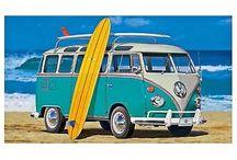 Retro VW Vans