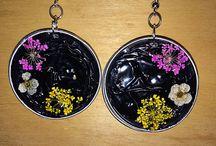 Le mie creazioni / Oggetti fatti a mano... Con cialde nespresso, wire, perline ecccccc