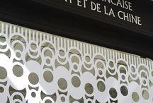 Vitrines / Voici les vitrines de la Compagnie Française de l'Orient et de la Chine