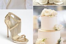 Here Comes the Bride (Neutrals Palette) / Is that day coming for you? Check out some wedding inspiration and tips revolving around a neutral-colored theme here~ / by Judie Kuo