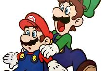 Mario Bros arte oficial