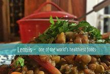 Lentil dishes