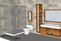 BATHROOM: 6x12 / FREE DESIGN at MARMOTECH AT FACEBOOK.
