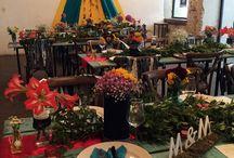 Farmer esküvői dekoráció