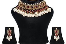 Latest Bollywood Inspired Kundan Wedding Necklace Set