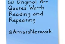 art quotes / by Cindy Arnold