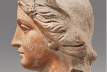 Ancient greek heads