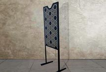 Freestanding laser cut metal screens