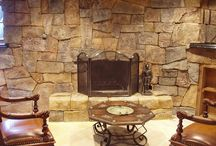 Vertical Concrete / Faux Stone / Incredible looking faux stone concrete walls