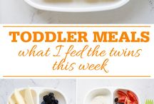 Toddler food ideas / What to feed a fussy toddler! A selection of foods just for the little person in the family!