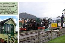 Kids Days Out On UK Steam Trains / Ideas and guides for days out with the kids on the UK's heritage railways.