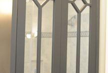 Mirrored cabinet door ideas