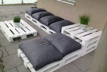 Low budget ideas / Pallets projects