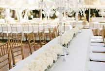 White Wedding / Let the pure color of white inspire your wedding.