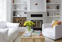 Living and Family Rooms / by Julianne Rosenzweig Stamatyades