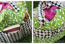 SEWING:LOVE MY BAGS, AND TOTES AND MORE... / by Debbie Loveland