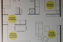 FLOOR PLANS / An interesting way to figure out how you want to live