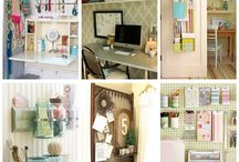 .≈Ideas for My Sewing Room≈. / by Kate Richbourg