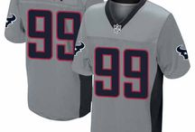 J.J. Watt Nike Jersey – Authentic Elite Texans #99 Blue White Jersey / The Houston Texans J.J. Watt jersey are available now for purchase at Official Shop! Shop the much-anticipated Blue and white Texans jerseys for Men's, Women's,Youth and Kids'. Shop authentic elite, replica game, or premier limited Houston Texans J.J. Watt jersey today to be ready for the 2012-2013 season! The new J.J. Watt team color and away jersey in stock now. Size S, M,L, 2X, 3X, 4X, 5X. / by Noe Ihnat
