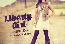 Liberty Black Girl / Unique Boots for unique people