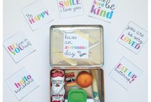 Lunchbox Ideas and Printables / Lunchbox Ideas for the kiddos