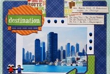 Scrapbooking City/Travel / by Evie Leaders