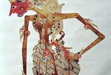 Wayang figures