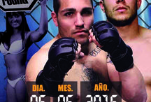 CARTELERIA MMA SUPER FIGH GALICIA! / CARTEL MMA en AUDITORIO MAR de VIGO