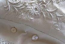 tissu et  linge ancien