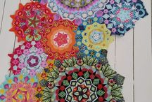 Millefiori quilt patterns