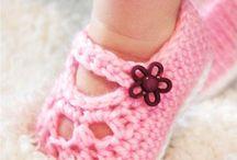 MaryJane Booties crochet