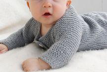 Patronen baby vestje