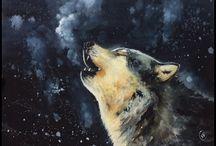 урок рисов.волк