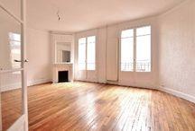 A louer vide Paris 14ème 4 pièces de 79 m² Métro Denfert-Rochereau.