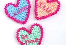 crochet 30- appliques&motifs / free patterns, some to buy / by anz jansen van vuuren